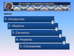 Photo: Ingenieros Peruanos en Europa. OBJETIVOS