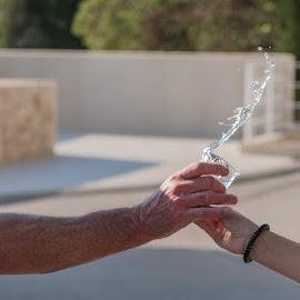 by Miho Kulušić - Sports & Fitness Running ( water, water drops, sport, waterdrops, running,  )