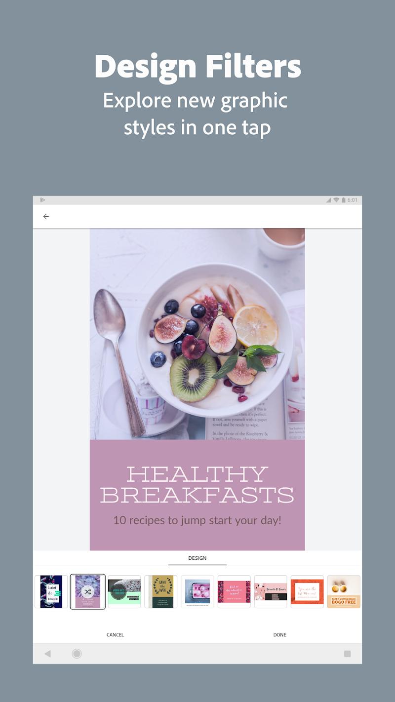 Adobe Spark Post: Graphic design made easy Screenshot 12