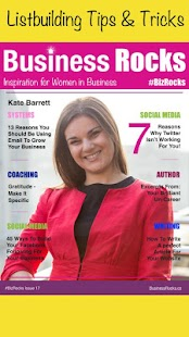 Business Rocks Womens Magazine- screenshot thumbnail