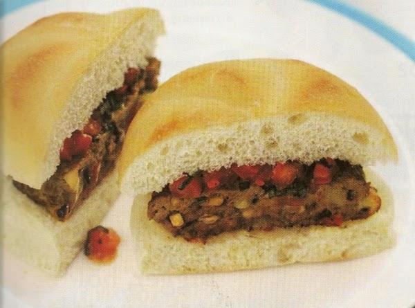 Cheesy Mushroom Burgers Recipe