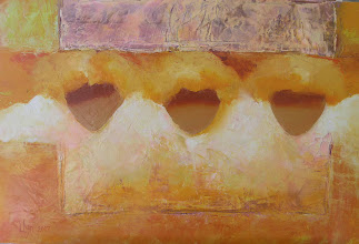 Photo: Андрей Цуп, «Наріжний камінь», холст, масло, 40х60см
