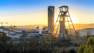 Goldfields's South Deep Mine. Picture: SUPPLIED
