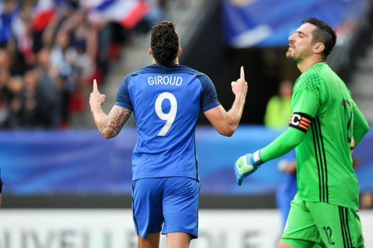 La France, avec un triplé de Giroud, surclasse facilement le Paraguay