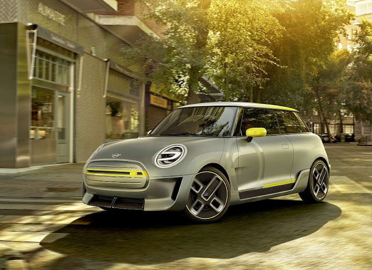 The concept shows all the hallmark Mini design attributes but with some major detail changes. Picture: BMW