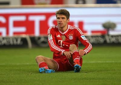 """Thomas Müller: """" Nous sommes loin d'être heureux """""""
