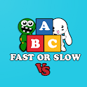ABC Fast Or Slow: Multiplayer Real-Time Game Free icon