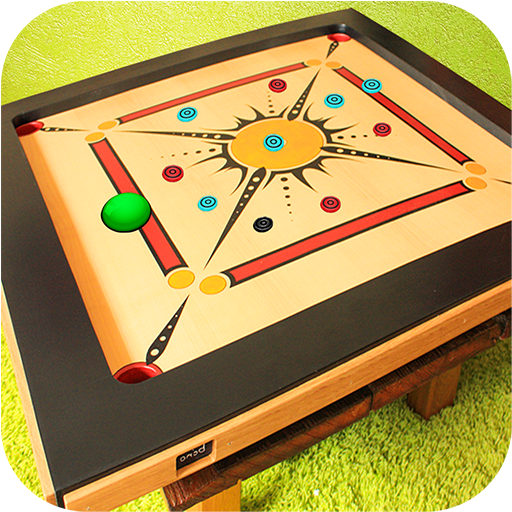 Real Carrom Pro 3D Deluxe : Free Carrom Board Game