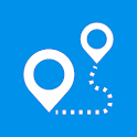 My Location: GPS Maps, Share & Save Locations icon