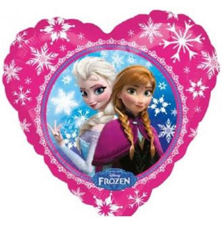 Folieballong - Frost hjärta