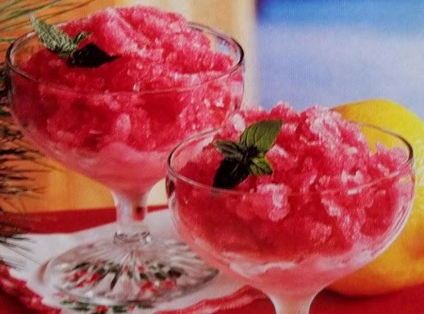 Cranberry Shiver Recipe