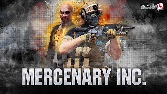 Mercenary Inc. Imagen do Jogo