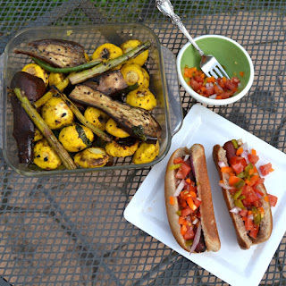 Asian Marinated Grilled Vegetables Recipe