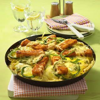 Fish and Pasta Casserole.