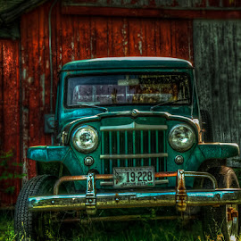 by Chris Cavallo - Transportation Automobiles ( automobile, rust, car, old, rusty, decay, antique )