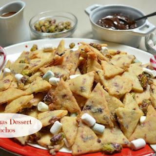 Christmas Dessert Nachos.