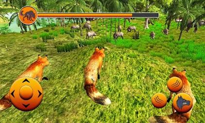 Real 3d Wild Fox Simulator:Clan Game APK - apkname com