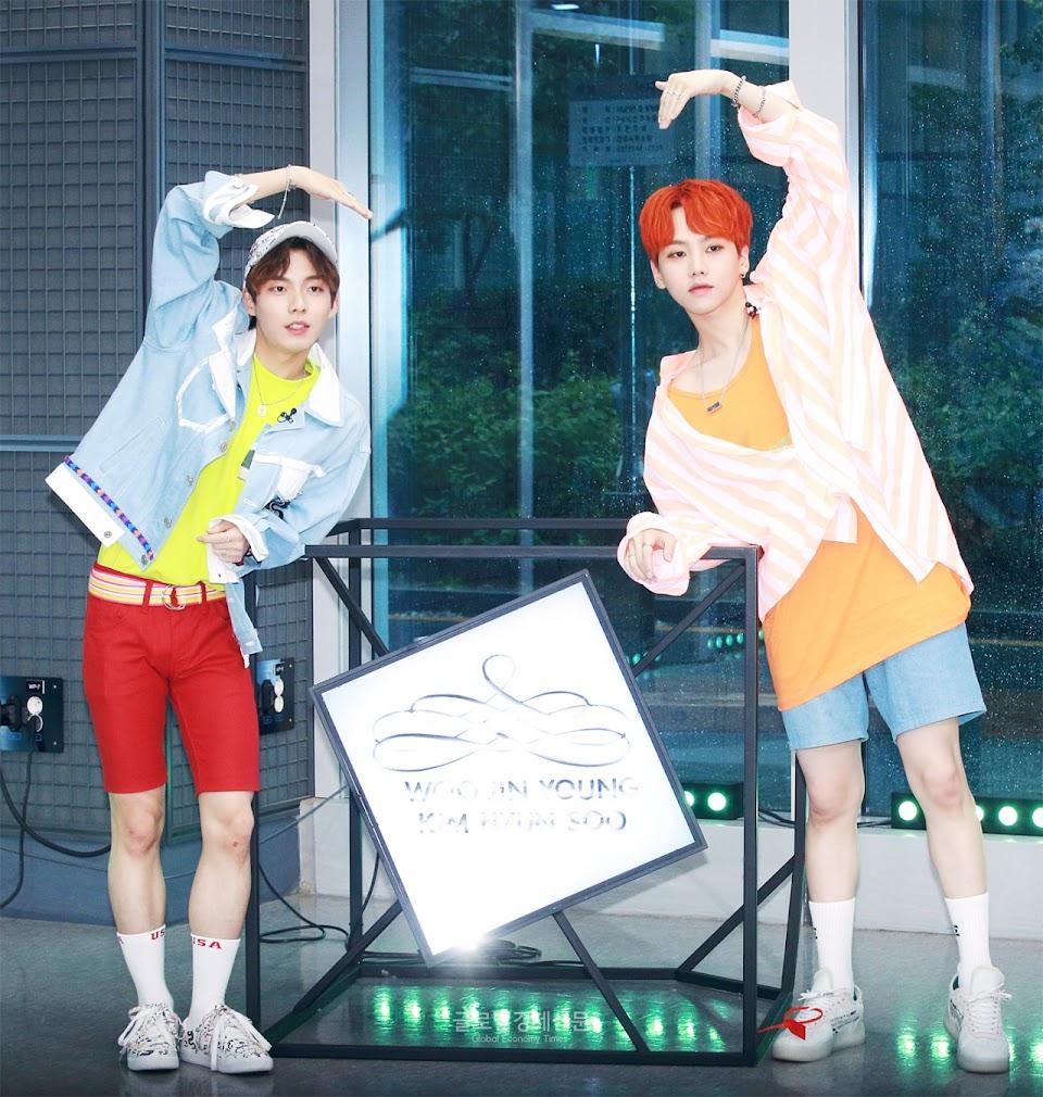 korean music festival 2018 woo jinyoung x kim hyunsoo
