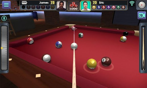 3D Pool Ball- screenshot thumbnail
