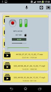 PCM Voice Memo Recorder Pro - náhled