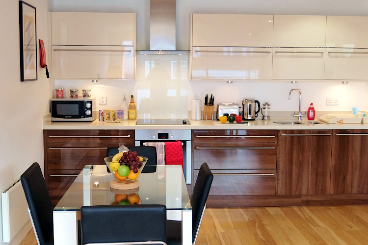 Fully equipped kitchen at Ruislip Apartments