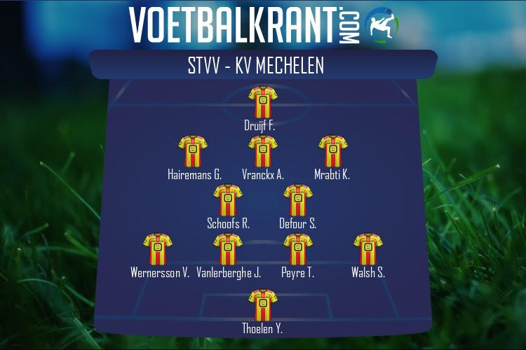 KV Mechelen (STVV - KV Mechelen)