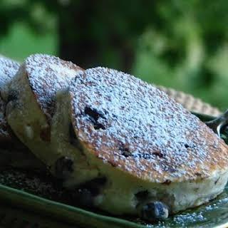 Blueberry Buttermilk Crumpets.