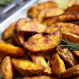 Easy Baked Potato Wedges.