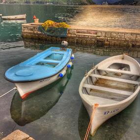 2 boats by Debra Graham - Transportation Boats ( 2 boats )
