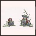 竹林の神仙