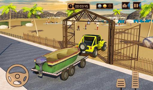 Camper Van Truck Simulator: Cruiser Car Trailer 3D 1.10 screenshots 11