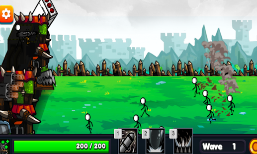 Stickman Shooter Tower Defense - náhled