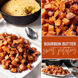 Bourbon Butter Sweet Potato Bites.