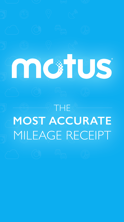Motus - Business Mileage Log- screenshot