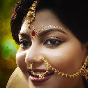 Bengali Bride by Subroto Mukherjee - Wedding Bride