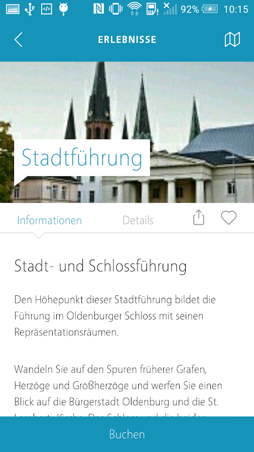 Oldenburg Tourismus Guide- screenshot