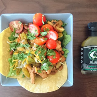 Fiery Jalapeño Taco Salad