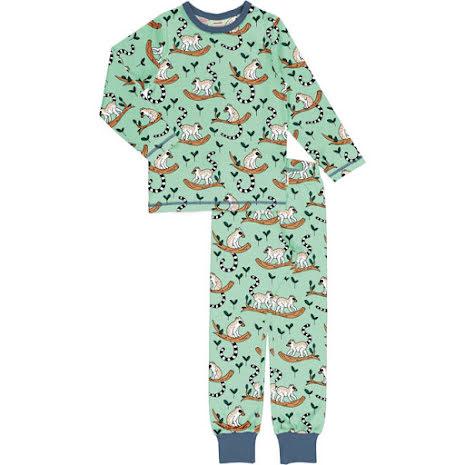 Maxomorra Pyjamas Set LS Maki Jungle