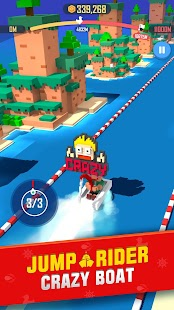 Crazy Boat: Jump Rider Screenshot