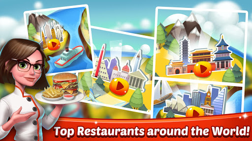 Cooking World Girls Games & Food Restaurant Fever 1.29 screenshots 5