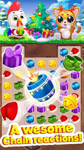 Christmas Match 3 - Puzzle Game 2019 screenshot 1