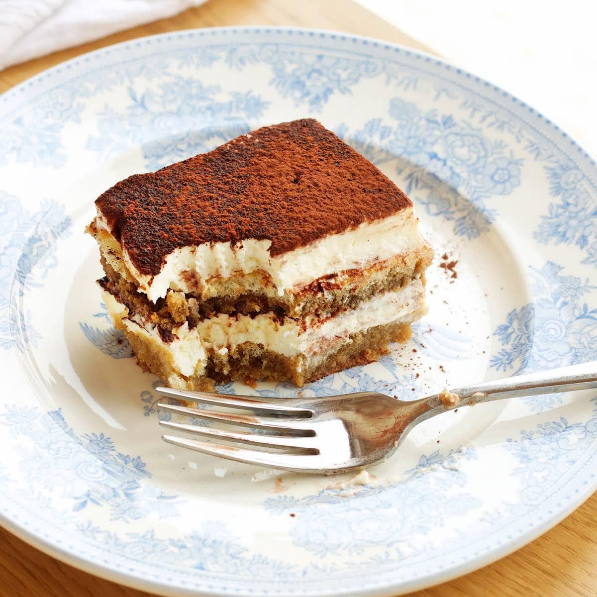 Chocolate And Coffee Icebox Cake