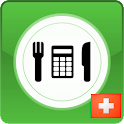 Calorie counter - Swiss icon