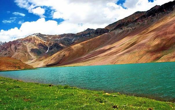 Image result for Dhankar Lake images