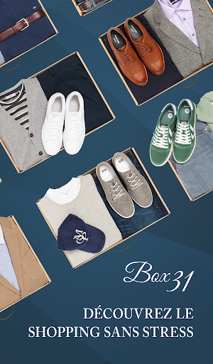 Box 31 - Votre Personal Shopper - screenshot