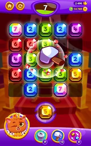 Bubbu Jewels - Merge Puzzle  screenshots 16