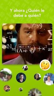 El App de LaVaquinha screenshot