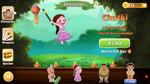 Chhota Bheem Race Game 2.2 screenshots 14
