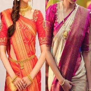 Paithani Sari Blouse Designs. 5.4.5 by Kizee Tech logo