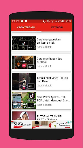 Tutorial Tik Tok 2018 - Video 3.0.0 screenshots 4